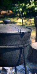 closed pot, kettle