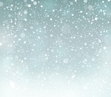 Snow theme background 6 poster