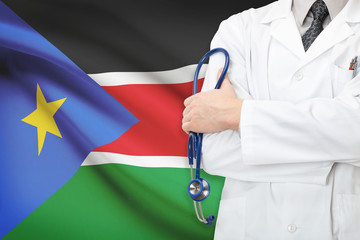 Concept of national healthcare system - South Sudan