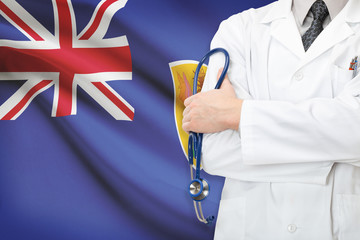 Concept of national healthcare system - Turks and Caicos Islands