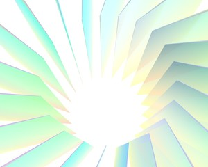 Abstracte achtergrond ijs kristal