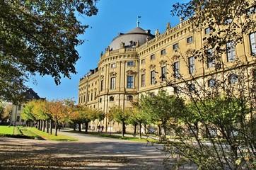 Hofgarten und Residenz Würzburg