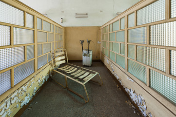 Abandoned psychiatric asylum