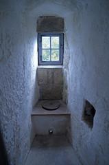 Toilette im Mittelalterschloss
