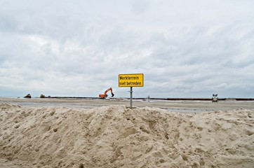 Küstenschutz in Nordholland
