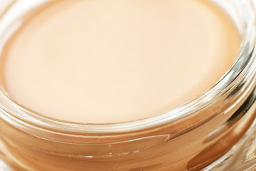 Tonal cream closeup