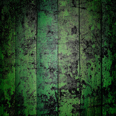 green grunge background textured on concrete wall