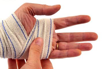 La main blessée