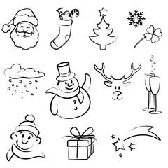 Doodle Set - Weihnachten