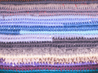 Crochet color background