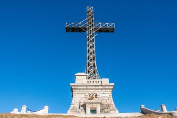 Heroes Cross, Bucegi, Romania.