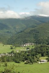 Village de montagne,Pyrénées audoises