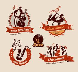 Jazz. Vector format