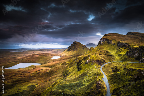 Poster Noord Europa Quiraing