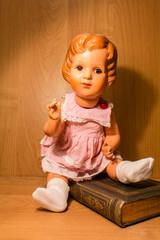 Zelluloid  Puppe