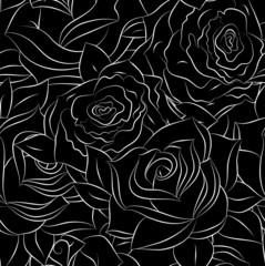 Stylish floral background pattern