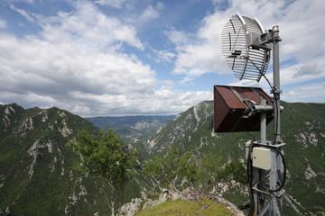 Relais de communication,Pyrénées