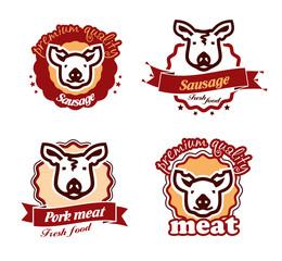 Pig. Vector format