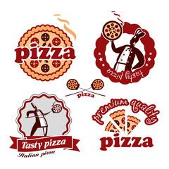 Pizzeria. Vector format