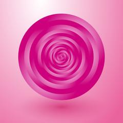 rotating pink circles