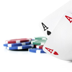 Double Aces Isolated