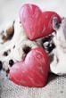 Постер, плакат: deux coeurs de Saint Valentin