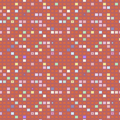 Square geometrical abstract background pattern