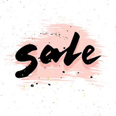 Sale calligraphy