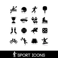 Icon sports and games - Set 3