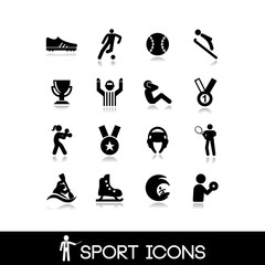 Icon sports and games - Set 10