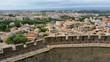 Vue de Carcassonne depuis les remparts