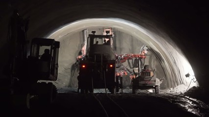 Bauarbeiten am Brennerbasistunnel BBT 2014 Teil 1