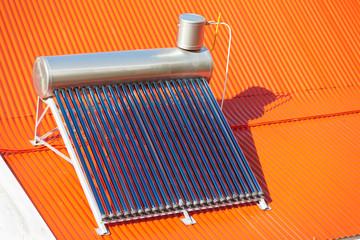 chauffe-eau solaire sur toiture