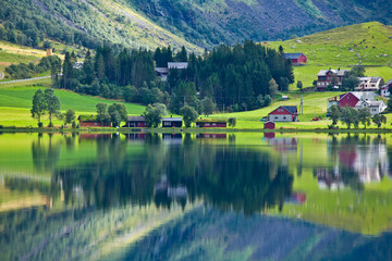 Norway - lake ideal reflection