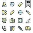 Healthcare icons set