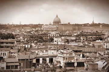 Rome - sepia tone city