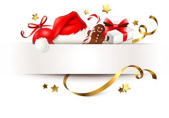 Weihnachtsgeschenke - Karte