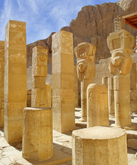 Hatsepsut temple, Egypt, UNESCO World Heritage Site
