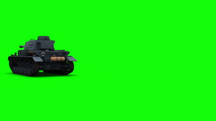 PzKpfw IV  greenscreen (back)