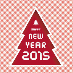 Happy new year 2015 greeting card15