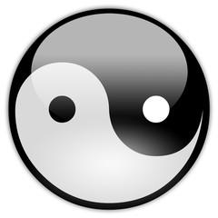 Button Patch Yin Yang