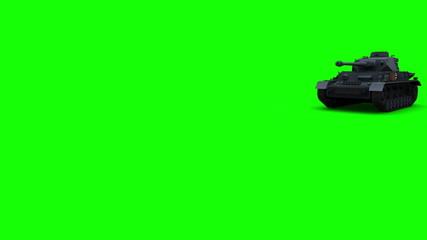 PzKpfw IV  greenscreen (front)