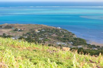 village de Port Sud Est, île Rodrigues