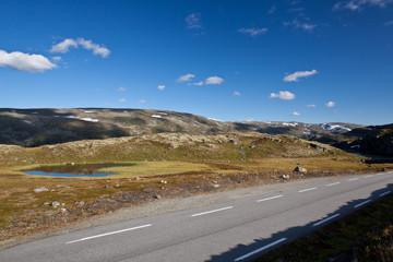 Norway - mountain road