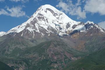 Gipfel des Kazbek, Kaukasus, Georgien, Europa