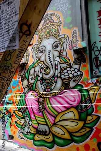 Foto op Canvas Praag L.A street, Melbourne