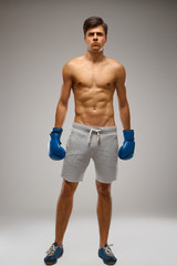 Boxer ready to fight