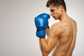 Young Boxer ready to fight