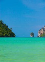 Sunny Panorama Seascape Panorama