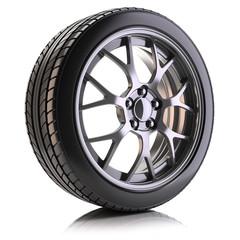 Auto wheel isolated